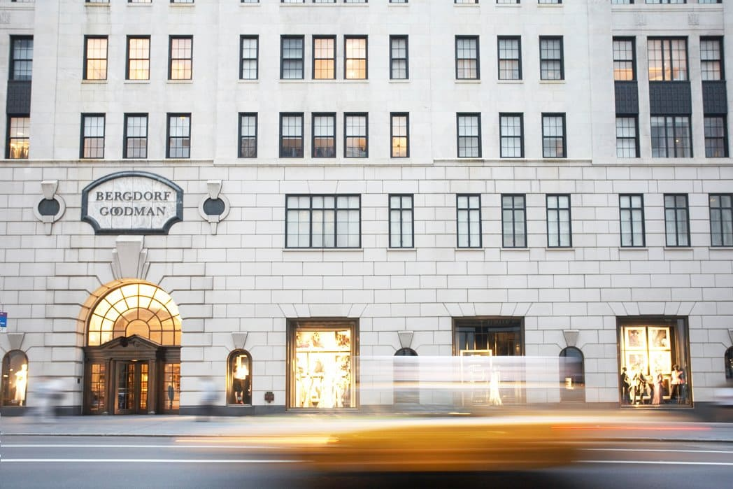 Bergdorf Goodman Shopping in NYC