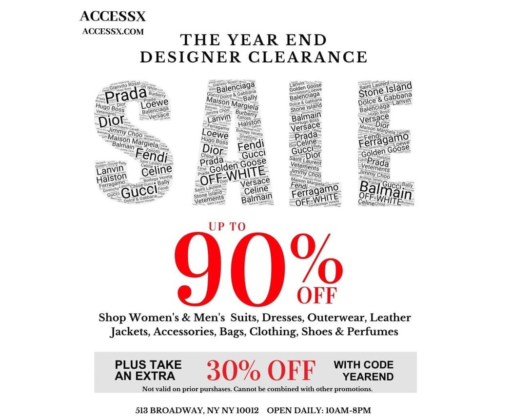 Luxe Multi Brand Clearance Sale