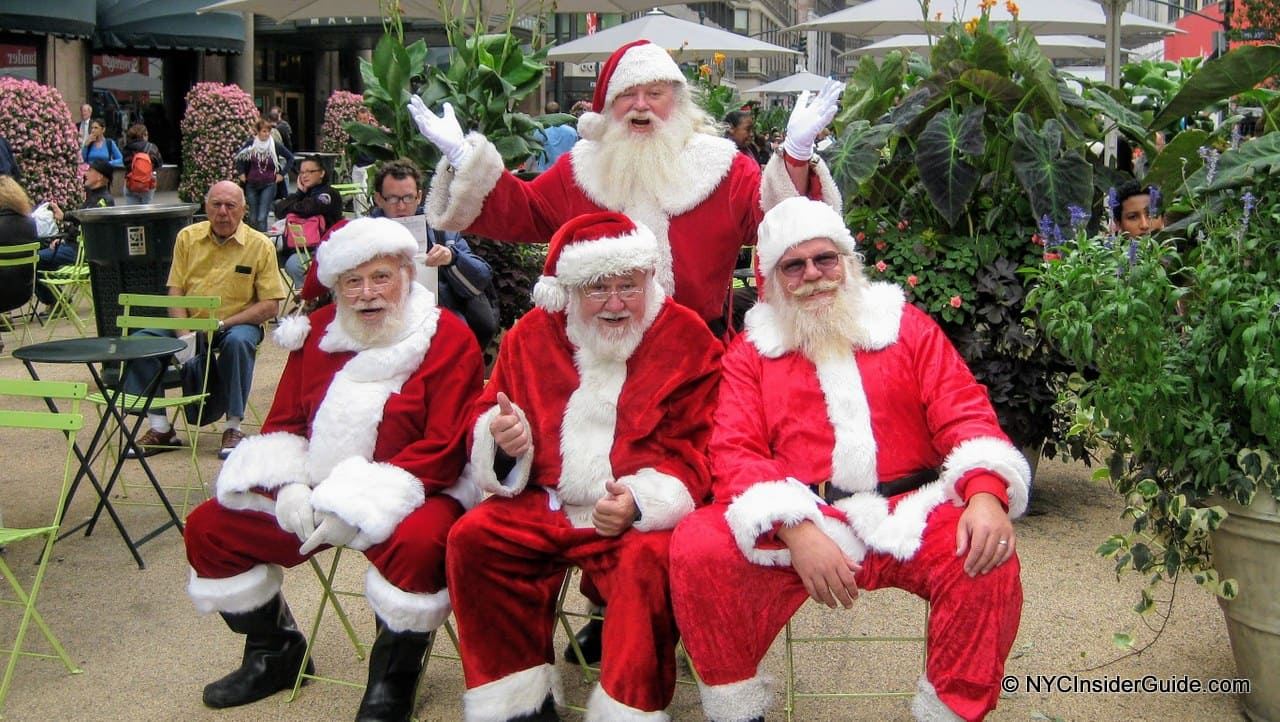 Where to see Santa in NYC