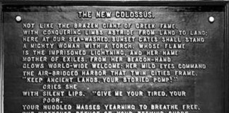 Statue of Liberty Inscription